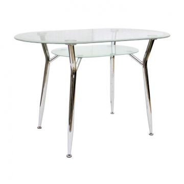 "Кухонный стол ""Шанхай стекло""-фото"