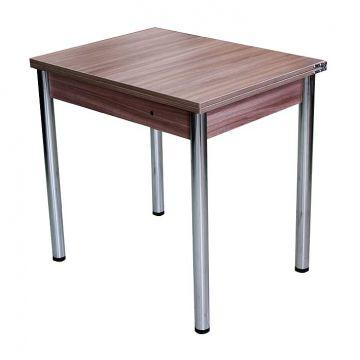 "Кухонный стол ""Форест"" (хром d50)-фото"