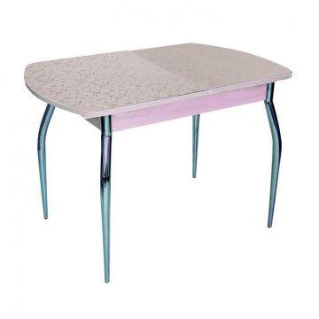 """Кухонный стол """"Ритм"""" (пластик матовый, раздвижной)-фото"""