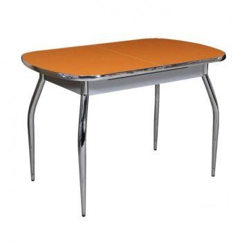 """Кухонный стол """"Ритм"""" (пластик глянцевый, раздвижной)-фото"""