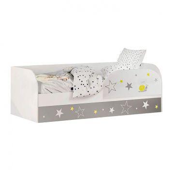 """Кровать детская """"Трио Звездное детство"""" (с подъемным механизмом) КРП-01-фото"""