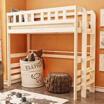 Кровать 2-х ярусная №6 из массива-фото