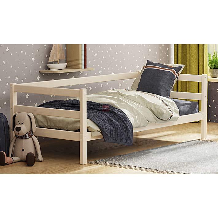 """Кровать из массива вариант №2 """"Омега-14"""""""