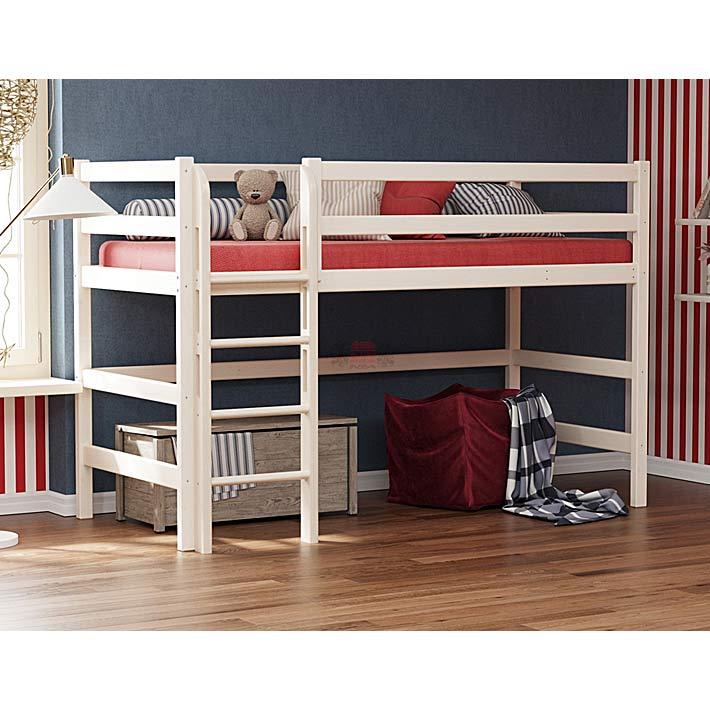 """Кровать из массива вариант №5 """"Омега-14"""""""