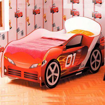 """Кровать для мальчика """"Омега-12"""" (ЛДСП)-фото"""