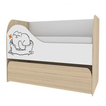 Кровать 2-х уровневая Кот - 900.1