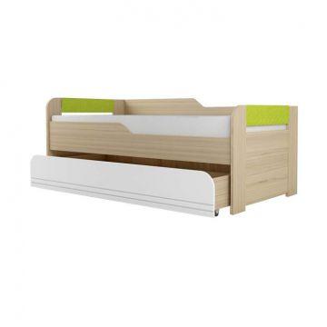 """Кровать двухуровневая """"Стиль 900.1"""" Лайм-фото"""