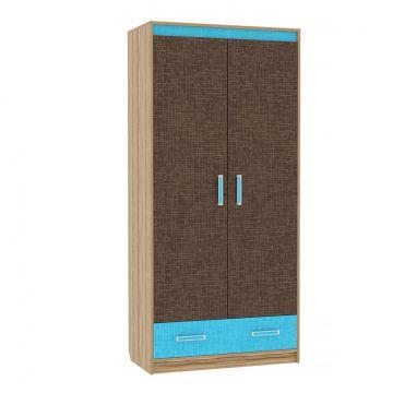 """Шкаф 2х дверный """"Твист""""- Мод.6-фото"""