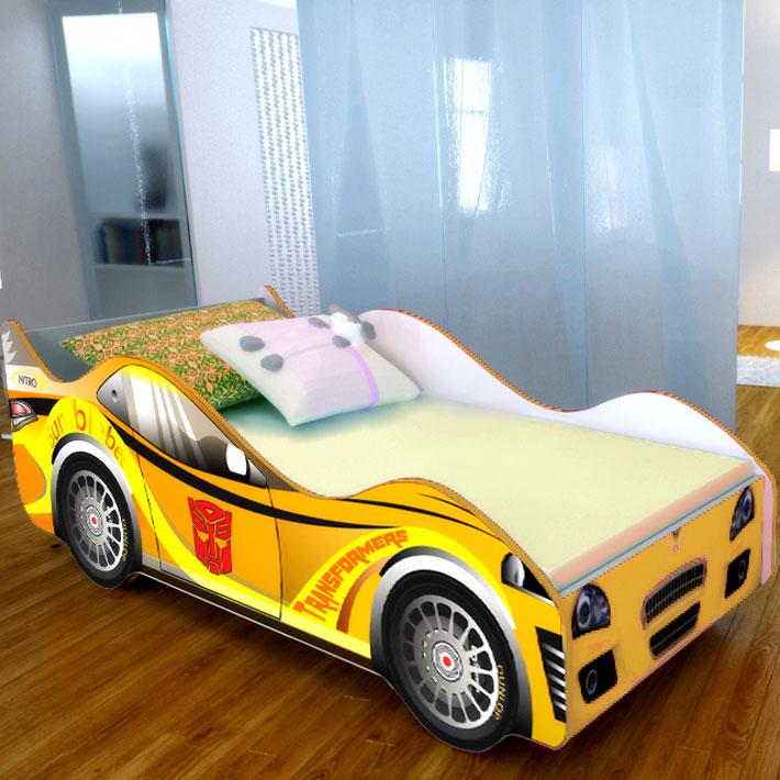 """Детская кровать-машинка """"Трансформер"""""""