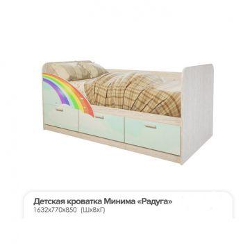 """Кровать Детская """"Минима Радуга""""-фото"""