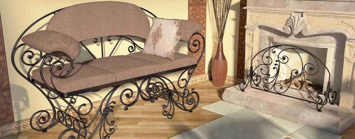 Кованая мебель-фото