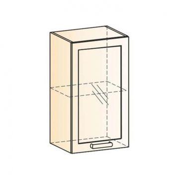 "Шкаф навесной ""Виктория"" L400 H720 (1 дв. рам.)-фото"