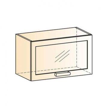 "Шкаф навесной ""Виктория"" L600 H360 (1 дв. рам.)-фото"