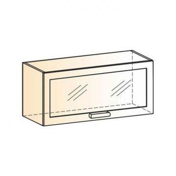 "Шкаф навесной ""Виктория"" L800 H360 (1 дв. рам.)-фото"