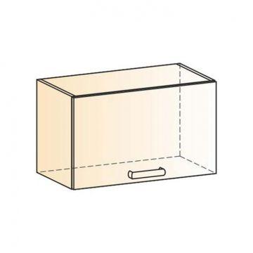 "Шкаф навесной ""Яна"" L600 H360 (1 дв. гл.)-фото"