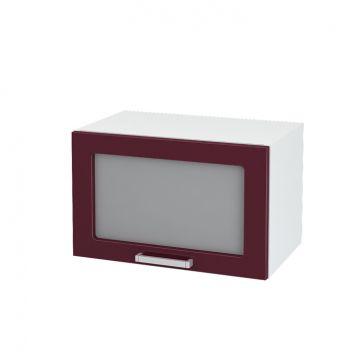 Кухня модульная Ксения (шкаф горизонтальный со стеклом 500)-фото