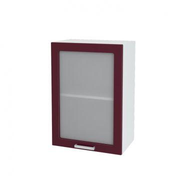 Кухня модульная Ксения (шкаф навесной со стеклом 500)-фото
