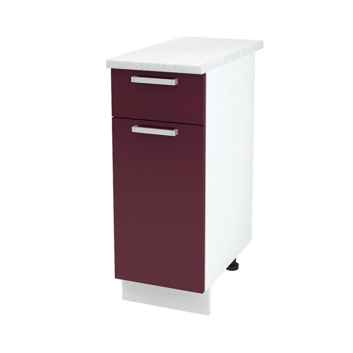 Кухня модульная Ксения (шкаф напольный с 1м ящиком 300)