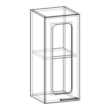 """Шкаф навесной стекло НСТ-300 """"Арчи""""-фото"""
