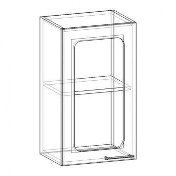 """Шкаф навесной стекло НСТ-400 """"Арчи""""-фото"""