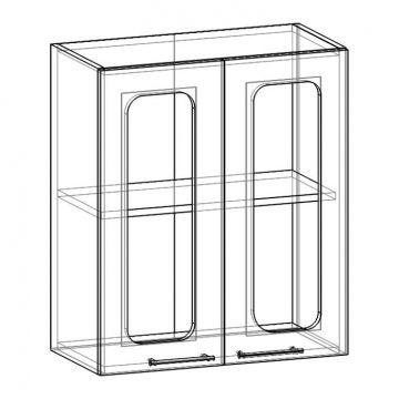 """Шкаф навесной стекло НСТ-600 """"Арчи""""-фото"""