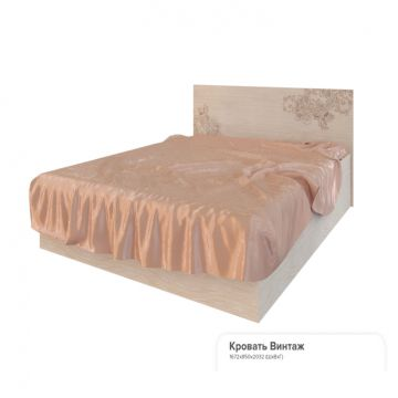 """Кровать """"Винтаж""""(1,6)-фото"""