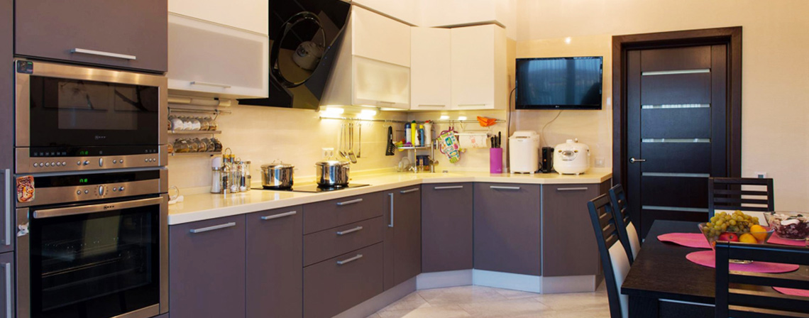 Готовые кухни на заказ-фото