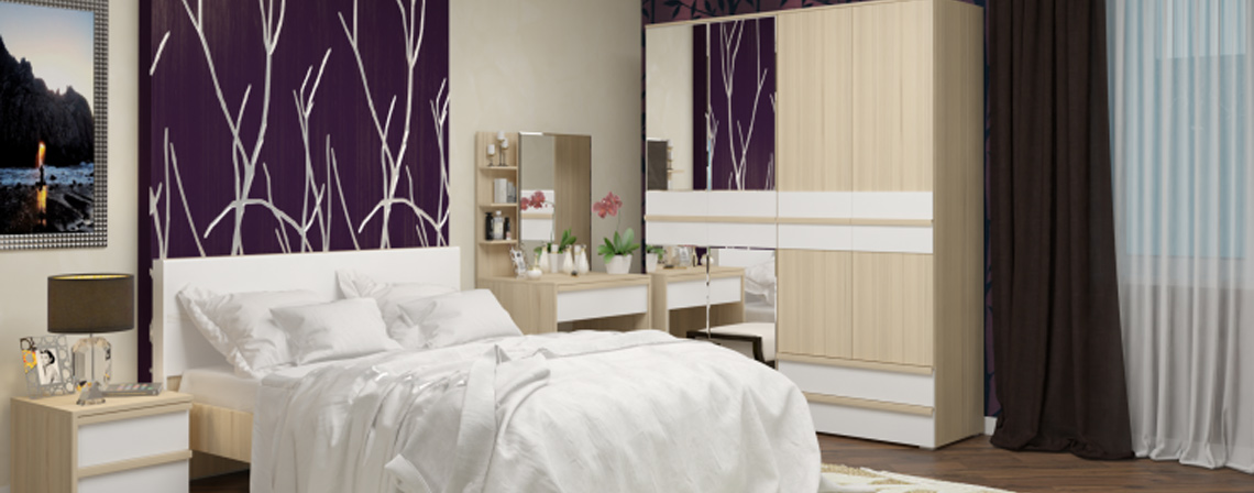Спальня модульная Бланка-фото