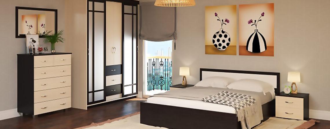 Спальня модульная Данди-фото