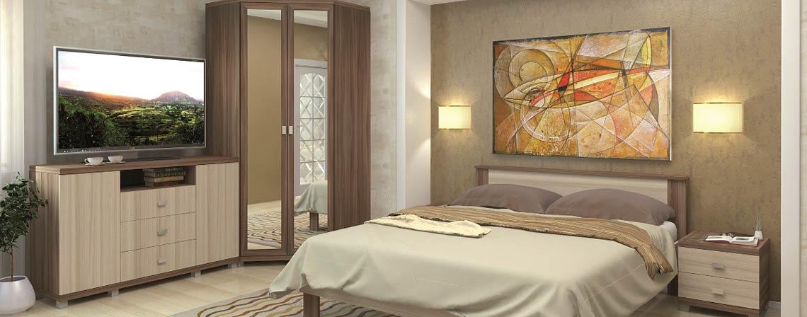 Спальня модульная Жасмин-фото