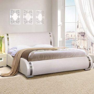 """Кровать """"Стелла"""" арт. 017 с ортопедическим основанием-фото"""