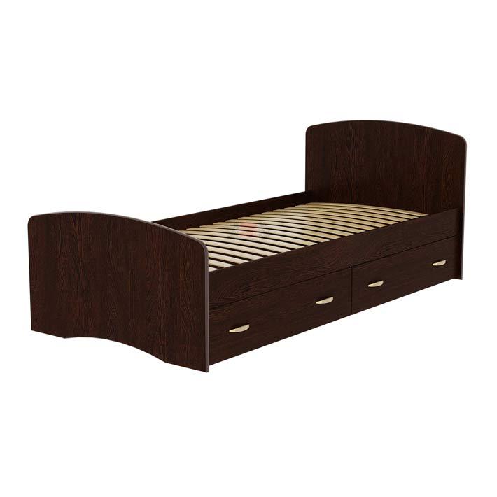 Кровать-6 Фант с выкатными ящиками