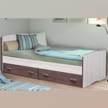 Кровать-6 Фант с выкатными ящиками-фото