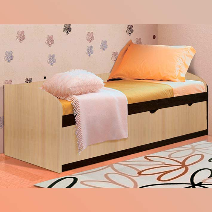 Кровать-8 Фант с выкатными ящиками
