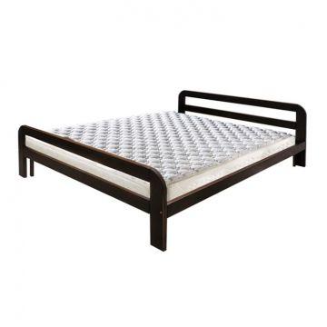 """Кровать массив """"Астрея"""" на металлокаркасе-фото"""