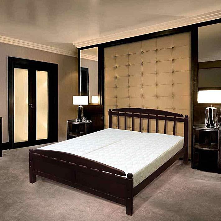 """Кровать из массива березы """"Вирджиния"""""""