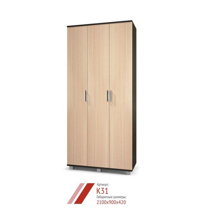 Шкаф Карина К-31 3-х створчатый