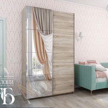 "Шкаф-купе 2-х дверный ""Fortuna 1""-фото"