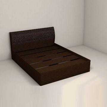 """Кровать 1400 арт. 001 """"Кэт 4 Caiman"""" с настилом-фото"""