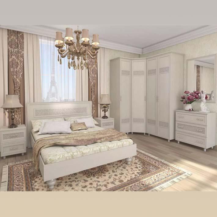 "Спальня модульная ""Виктория"" компоновка1"