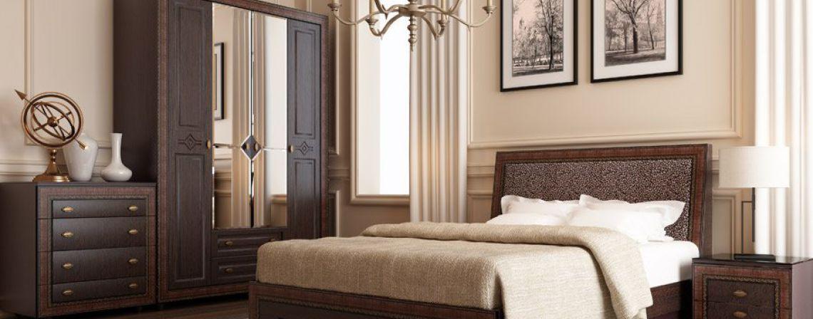 Спальня модульная Калипсо-фото