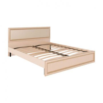 """Кровать  с ортопедическим основанием и мягкой спинкой """"Беатрис""""-фото"""