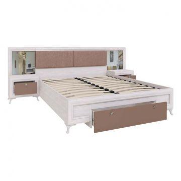 """Кровать """"Саванна"""" с ортопедическим основанием-фото"""
