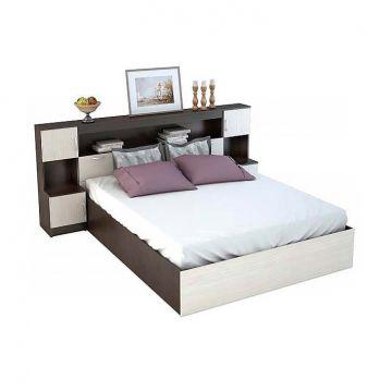 """Кровать """"Бася"""" с закроватным модулем-фото"""