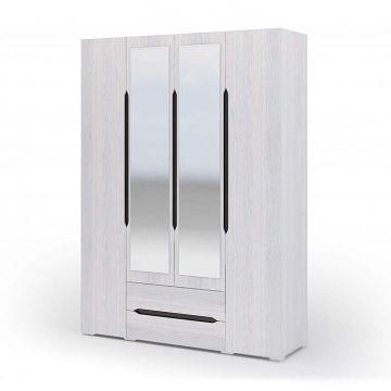 "Шкаф ""Валенсия"" 4-х створчатый с ящиками 014-фото"