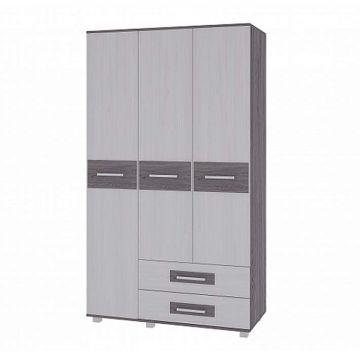 """Шкаф 3-х дверный с ящиками """"Вега"""" М-4-фото"""