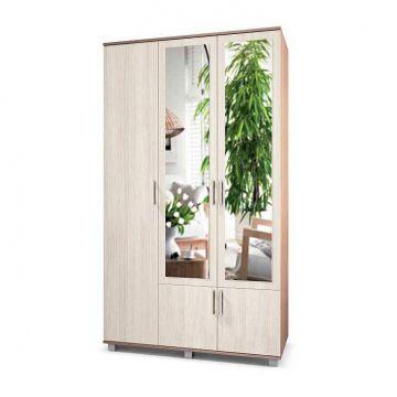 "Шкаф ""Ева"" 3-х створчатый с 2 зеркалами Е32-фото"
