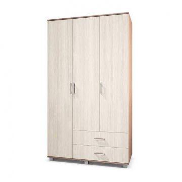 """Шкаф """"Ева"""" 3-х створчатый с выдвижными ящиками Е33-фото"""