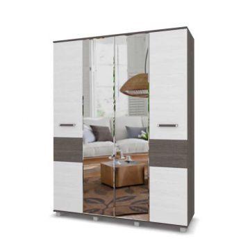 """Шкаф """"Виора"""" 4-х створчатый с зеркалом В41-фото"""
