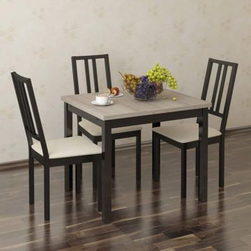 Стол обеденный раздвижной (Аквилон)-фото